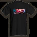 Crew t-shirt black radioicefm-front